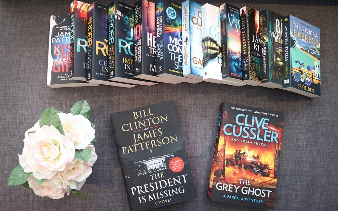 A Very Chatty Thriller Novel Book Haul